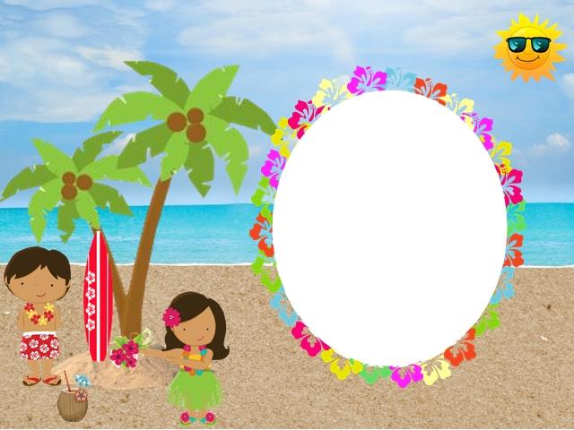 Fiesta Hawaiana De Chicas Invitaciones Para Imprimir Gratis