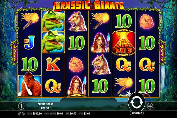 Main Gratis Slot Indonesia - Jurassic Giants (Pragmatic Play)