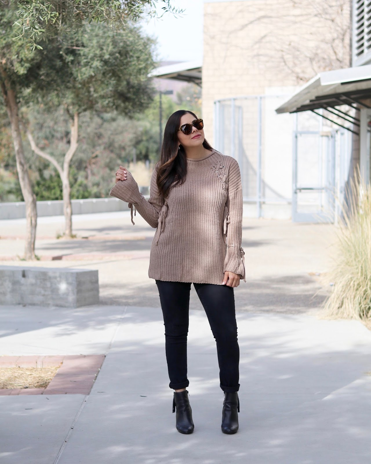 chic winter looks, chic mommy looks, san diego style bloggers
