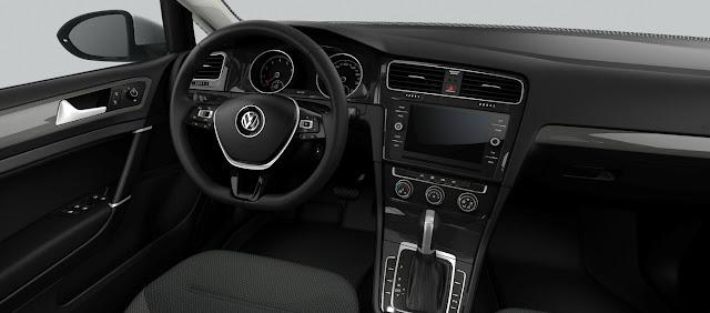 VW Golf Comfortline 2018 TSI Automático - Básico - interior