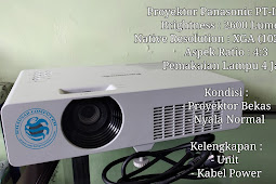 Proyektor Panasonic PT-LX26H (Second)