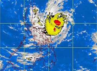 Santi now a tropical storm; Signal No. 1 up in 6 provinces