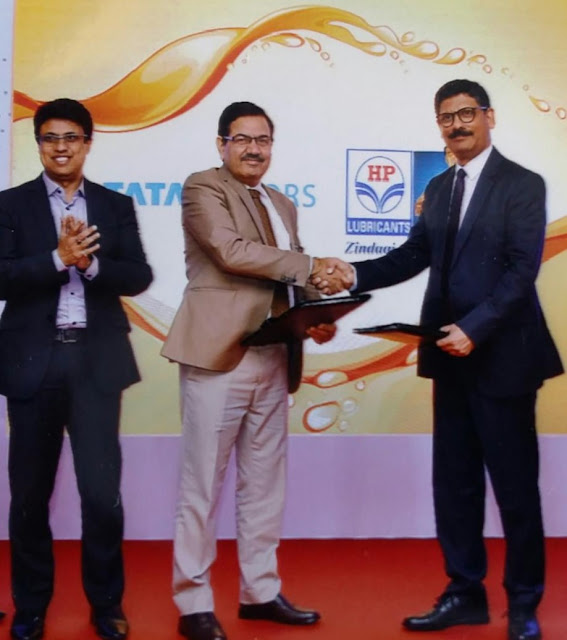 Tata Motors partners with Hindustan Petroleum Corporation Limited to launch HP Tata Motors Genuine Oil
