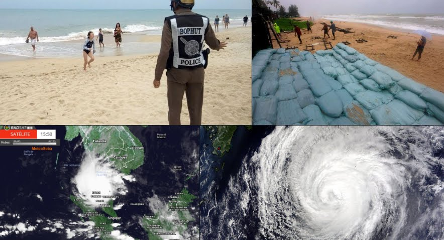 Allerta Thailandia Tifone Pabuk, migliaia gli evacuati.