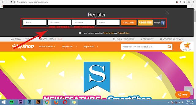 sgshop verification code