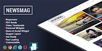 Newsmag Responsive - Responsive Magazine Blogger Template free.