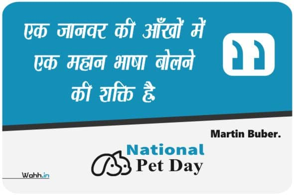 National Pet Day Messagess