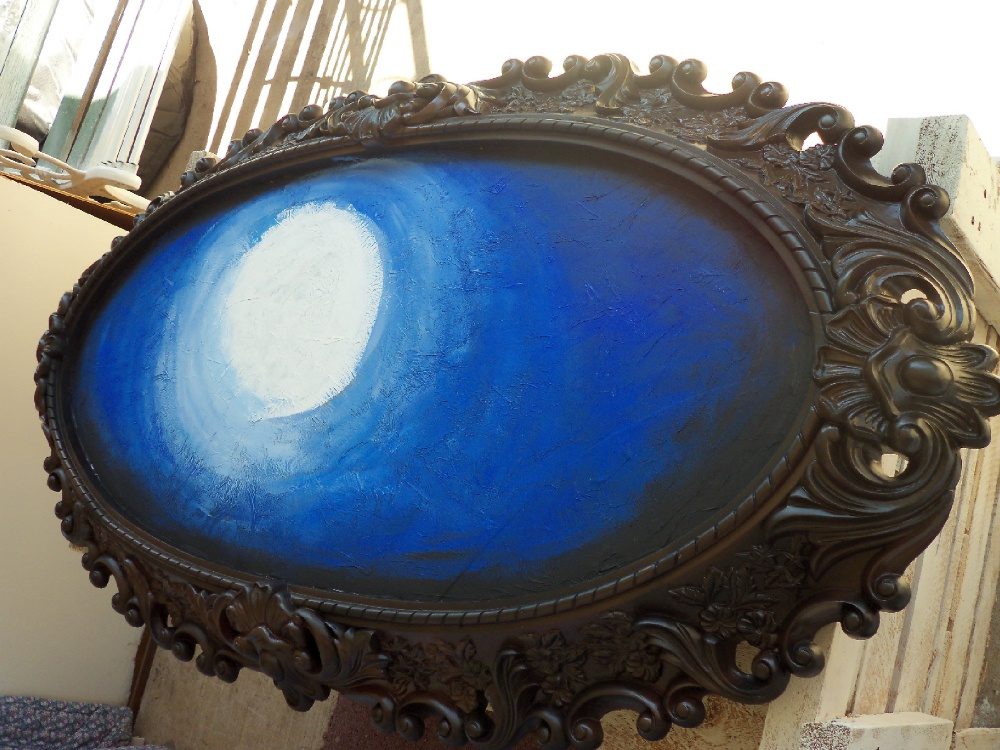 Make The Best Of Things Broken Mirror To Painting Save