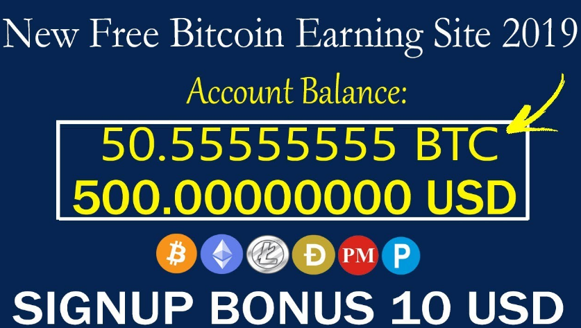 New Free Bitcoin Earning Site 2019 | 115$ Free On Signup - reaction4you