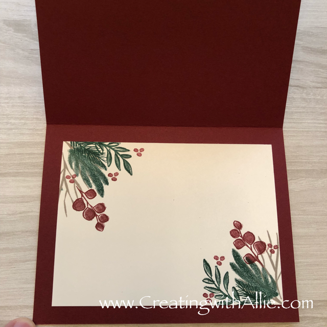 Check out this post to get some tips on how to make a  beautiful background for your cards using the peaceful noel suite!!!  www.creatingwithallie.com #stampinup #alejandragomez #creatingwithallie #cardclassestogowithallie #videotutorial #cardmaking #papercrafts #handmadegreetingcards #fun #creativity #makeacard #sendacard #stampingisfun #sharewhatyoulove #handmadecards #friendshipcards