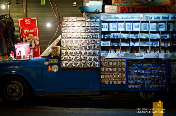 Pai Walking Street Night Market Postcards