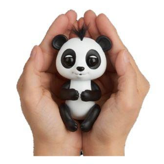 Fingerlings Baby Panda in person's hands