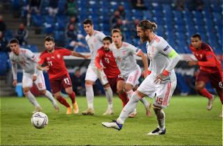 Switzerland match against Spain