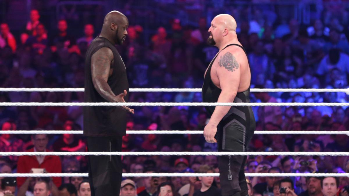 """Revelado o motivo da WWE vetar o combate de """"Shaquille O'Neal vs. Big Show"""""""