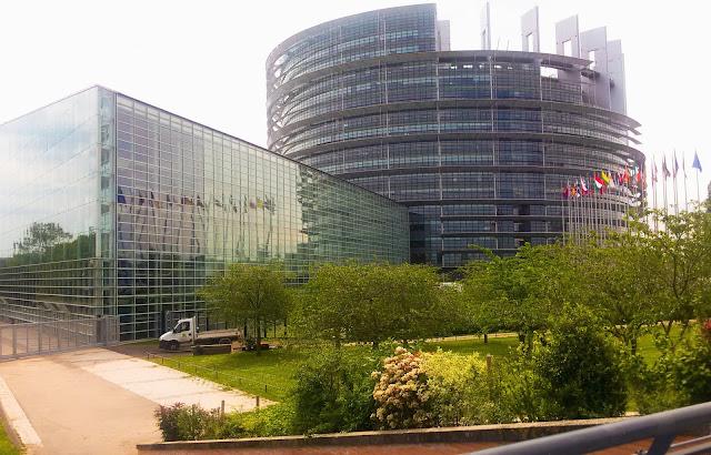 Parlament Europejski, Strasbourg, Francja