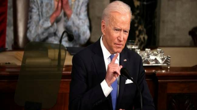 Biden's strong message to China in the first speech of Parliament