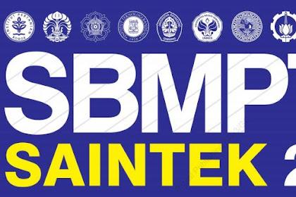 Download Ebook Persiapan SBMPTN 2019/2020 SAINTEK & SOSHUM