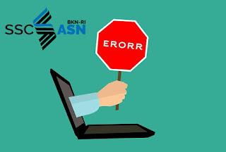 situs https://sscasn.bkn.go.id belum bisa di akses atau di buka, ini di karenakan mungkin banyaknya pengunjung ke situs tersebut, yang mengakibatkan situs tidak bisa di akses atau di buka.