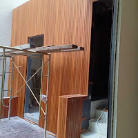 dinding kayu Ulin