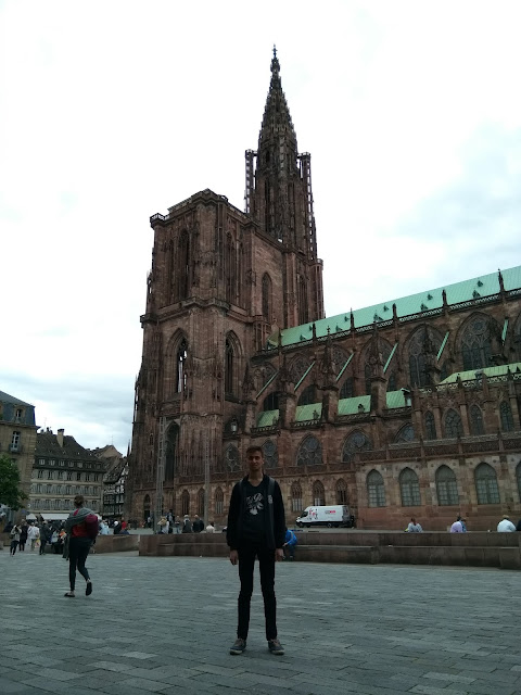 Harun İstenci Fransa Strazburg Notre Dame Katedrali'nde...