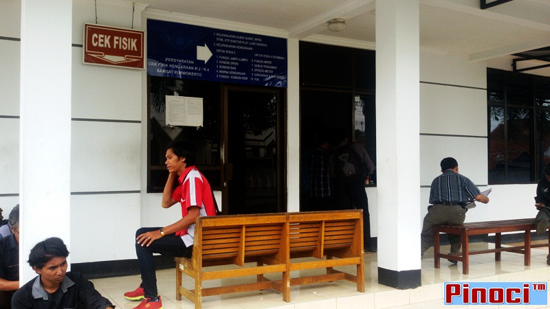 Loket Cek Fisik - Samsat Purwokerto