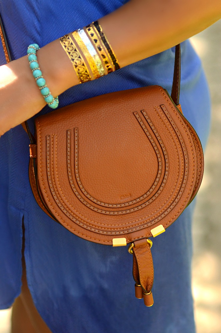 Chloé bag, Mini Marcie tan, Saddle bag