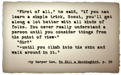 Atticus quote To Kill a Mockingbird
