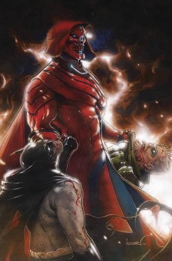 Leviathan es un villano reciente de DC Comics