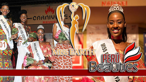 Susan Kirui es Miss Earth Kenya 2018 / 2019