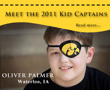 Iowa Hawkeye Football Kid Captain