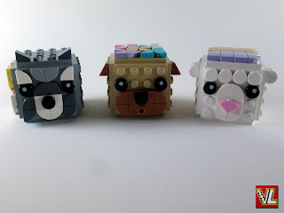 Set LEGO DOTS 41904 Animal Picture Holders