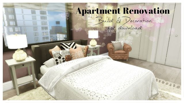 Apartment Renovation III for The Sims 4