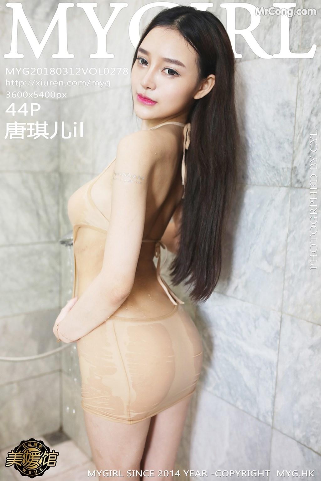 MyGirl Vol.278: Người mẫu Tang Qi Er (唐琪儿il) (45 ảnh)