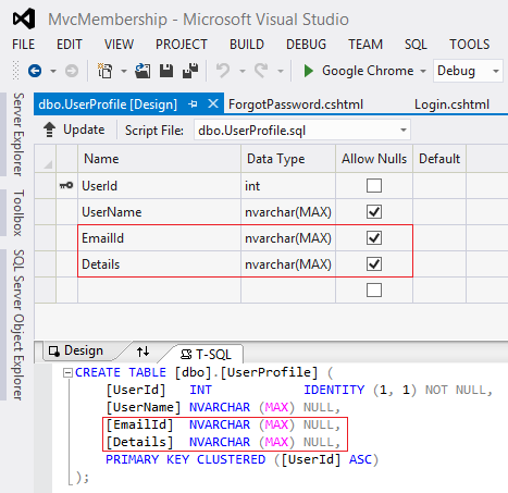 Enable Password Resetting with Simple Membership in MVC 4