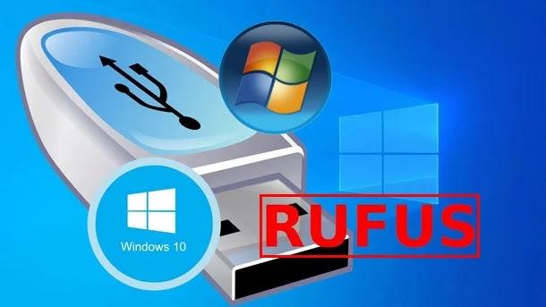أسهل طريقة لحرق الويندوز على فلاشة USB ببرنامج Rufus الشهير