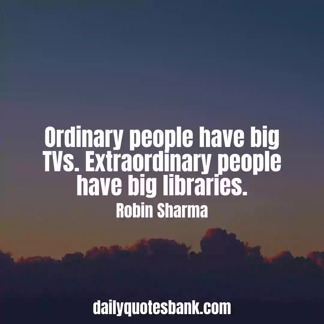 Robin Sharma Quotes On Wisdom That Will Increase Inner Power
