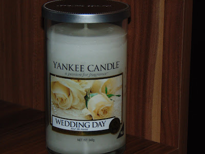 Yankee Candle, pillar Wedding Day