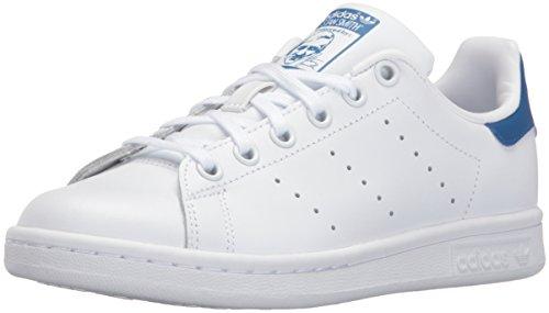 online store 83c7c 513b9 #kid #shoes adidas Originals Boys' Stan Smith J Shoe, White/White/Equipment  Blue, 6 Medium US Big ...