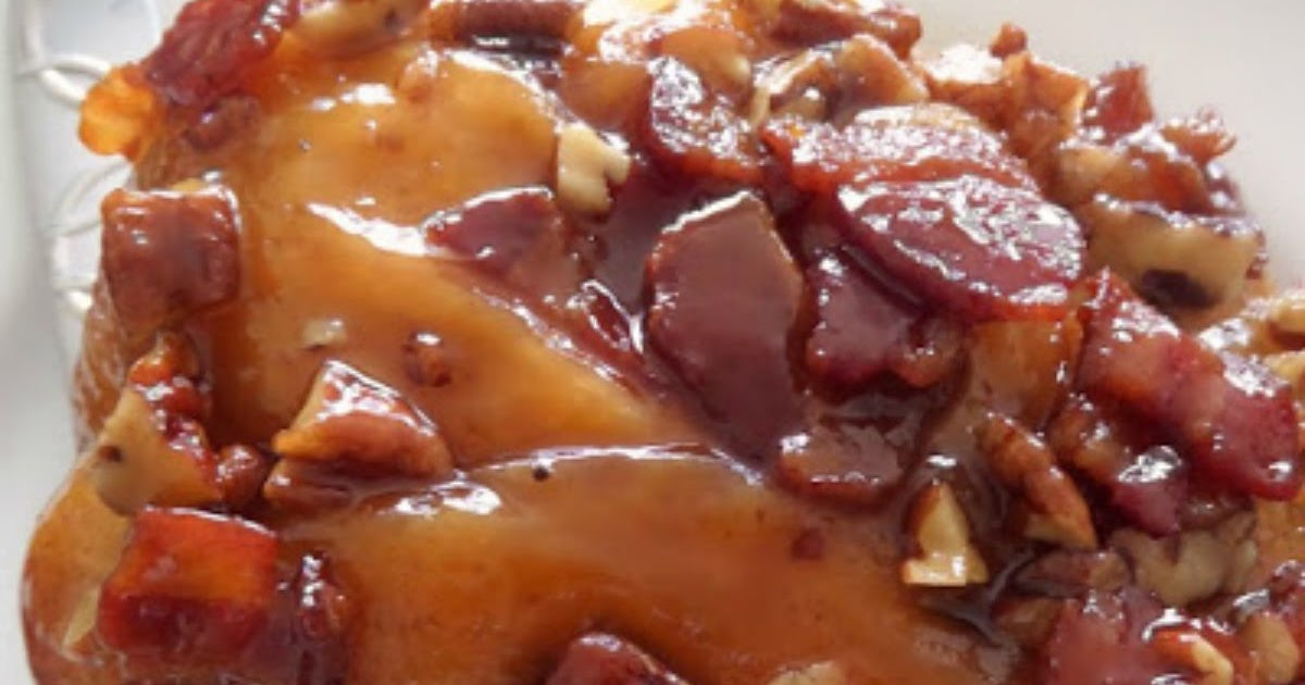 Bacon Pecan Maple Sticky Buns | Joybee, What's for Dinner?