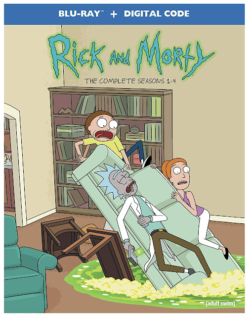 Rick & Morty The Complete Seasons 1-4