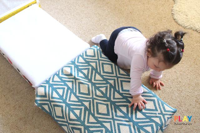 Sensory Runway for Baby - Baby Play Idea
