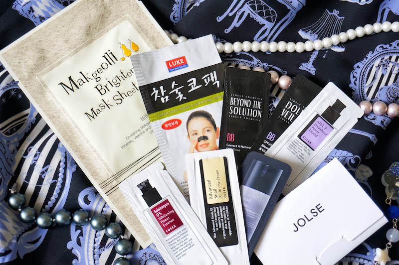 koreańskie kosmetyki, koreańska pielęgnacja, zakupy z jolse, jolse próbki