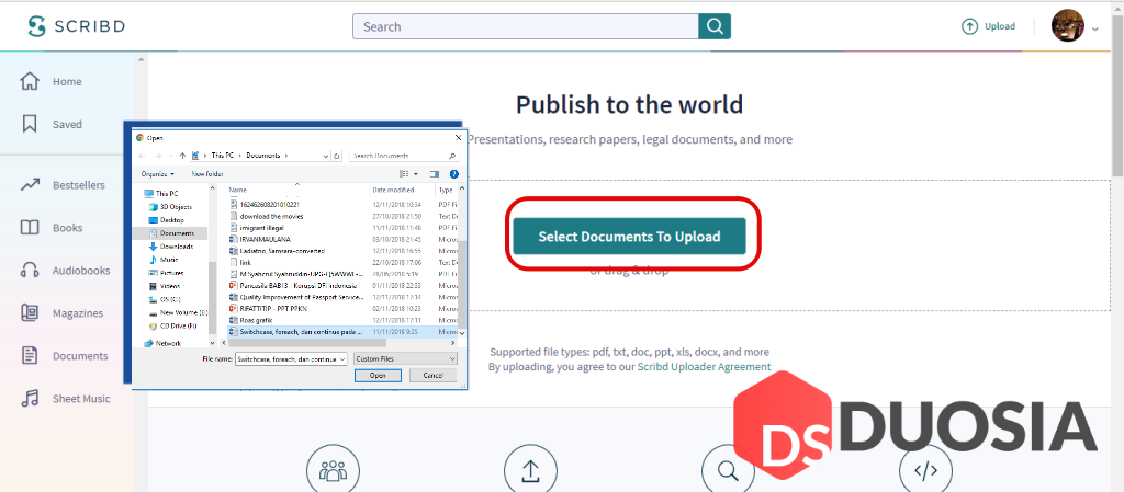 Cara Mendownload File Scribd Gratis dan mudah