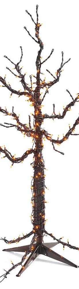 Grandin Road Pre-Lit Spooky Tree