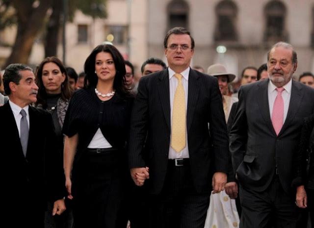 Marcelo Ebrard dijo ser víctima del espionaje