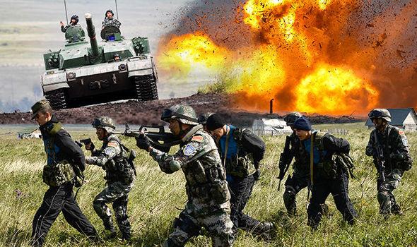Εντυπωσιακές εικόνες από την στρατιωτική άσκηση «μαμούθ» Ρωσίας και Κίνας (βίντεο)