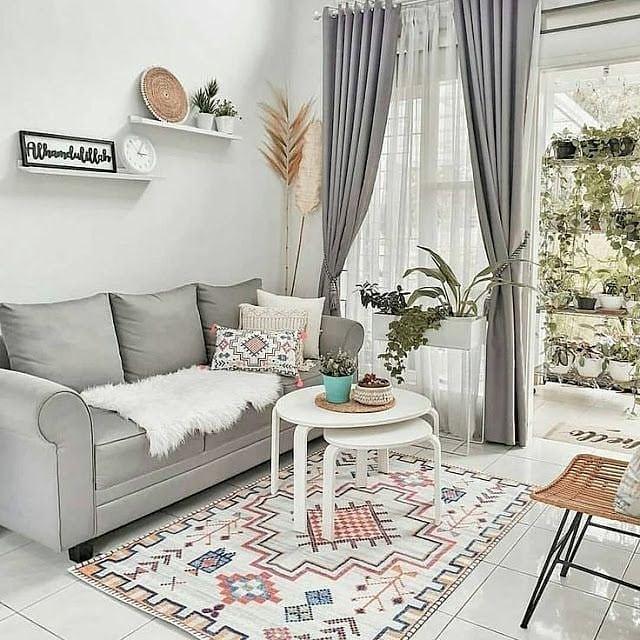 Ide Desain dan Dekorasi Ruang Tamu Sederhana tapi Menarik dan Elegan Terbaru