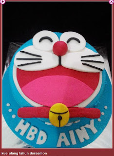 Kue Ulang Tahun Doraemon Keren
