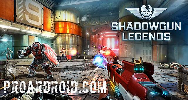 لعبة Shadowgun Legends v0.6.1 مهكرة كاملة للاندرويد (اخر اصدار) logo