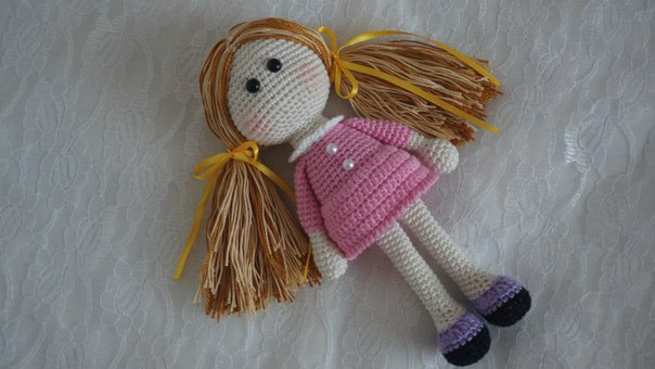 Small Amigurumi Doll Pattern : Amigurumi Little Doll-Free Pattern - Amigurumi Free Patterns